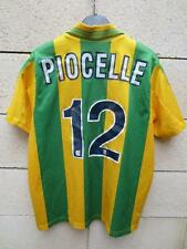 VINTAGE Maillot FC NANTES Adidas PIOCELLE n°12 ancien collection supporter XS