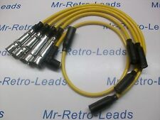 YELLOW 8MM PERFORMANCE IGNITION LEADS WILL FIT VW GOLF MK2 MK3 GTi QUALITY LEADS