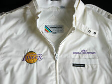 Vtg 80s LA LAKERS NBA 1987 World Champions Members Only Jacket 44 L Los Angeles