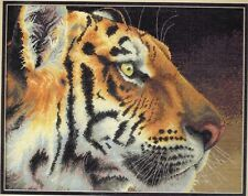 Counted Cross Stitch Dimensions Gold REGAL TIGER Kit Big Cats USA  Rossin 2006