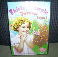 Shirley Temple Festival (DVD) 90 Minutes Factory Sealed!
