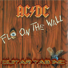 AC/DC Guitar Tab FLY ON THE WALL Lessons on Disc
