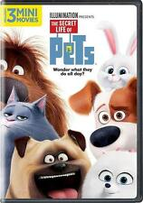 NEW- THE SECRET LIFE OF PETS (DVD,2016) SEALED FREE SHIPPING NOW ANIMATION