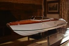 Riva Aquarama Aquariva 90cm Handmade Wooden Display / RC Model Italian Speedboat