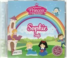 SOPHIE / SOFI THE BEST EVER PRINCESS SONGS & STORIES PERSONALISED CHILDREN'S CD