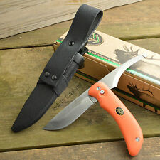 Outdoor Edge Swingblaze AUS 8 Drop Point And Guthook Orange Knife SZ-20N