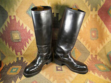 1970 HARLEY DAVIDSON ISSUE TALL MOTORCYCLE ENGINEER BOOTS ROCKABILLY  HOTROD