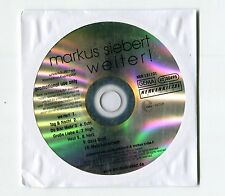 Markus Siebert - cd-PROMO - WEITER! © 2013 - German-10-Track-CD - POP