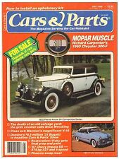 CARS & PARTS magazine May 1988 with Chevrolet, Ford, Chrysler and Pierce-Arrow