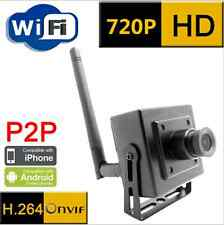 Portable WIFI HD 720P IP Network Security Camera Wireless ONVIF P2P+12V Adapter