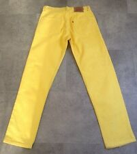 LEVI'S 501 YELLOW JEANS SIZE 30 X 32 MARKS SEE DESCRIPTION & PHOTOS MADE IN USA