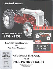 Ford 8n 9n Tractor Service Manual  Repair Workshop Manuals 3 in 1 Mailed CD