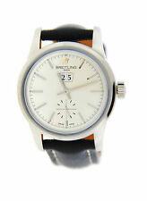 Breitling Transocean 38 Automatic Stainless Steel Watch A1631012