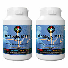 STRONGEST ANABOLIC MASS SUPPLEMENT 2 x BOTTLE OFFER
