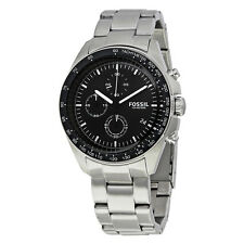 Fossil Sport 54 Chronograph Black Dial Mens Watch CH3026