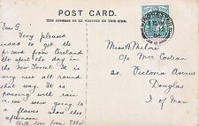 Genealogy Postcard - Family History - Milner - Douglas - Isle of Man   A1649
