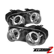 ACURA INTEGRA DC2 94-97 Chrome Halo Left+Right Pair Projector Headlight Assembly