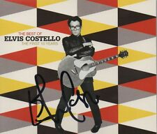ELVIS COSTELLO - personally signed THE BEST OF THE FIRST 10 YEARS - CD cover