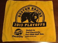 Boston Bruins 2013 NHL Playoffs Rally Towel - Quarterfinals Series Home Game 1