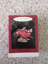 1994 Hallmark Timon and Pumba Ornament Disney Lion King