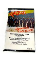 COSTA BRAVA Seguimos de Costa a Costa Cassette Tape NEW Sealed