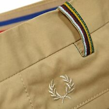 FRED PERRY BRADLEY WIGGINS CHINO TROUSERS 29R W29 L32 BNWT