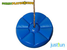 DAISY DISC SWING SEAT BLUE Set Playground Accessories With Free Rope