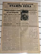 SECONDA GUERRA MONDIALE@DISTRIBUZIONE DEI GIORNALI AI SOLDATI TEDESCHI@7/02/1941