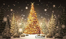 Christmas photography photo prop Studio background Vinyl backdrop 7X5FT GSD08