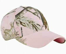 New Dri Duck Brand Womens Pink Realtree Buck Visor Cap