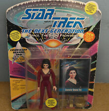 Star Trek TNG COUNSELOR DEANNA TROI IN SECOND SEASON UNIFORM Action Figure NEW