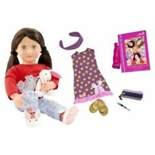 Our Generation Deluxe Doll Willow Plush Bunny Slippers PJ's Fits American Girl