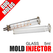 Low-cost Injector Soft Lure Mold Hand Glass Injector 5ml for Plastisol