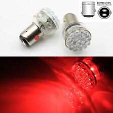 2x 24 LED 6V RED Car Bulb 1157 bay15d 1154 Light Stop/Tail/Stop/Reverse Lamp AC