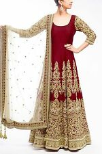 Indian Bollywood Ethnic Designer Anarkali Salwar Kameez Suit &Traditional BRI000