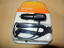 Sony ERICSSON cla-61 AUTO cavo di ricarica cst-61 Caricabatterie Cellulare Bluetooth Headset