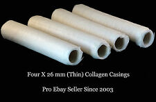 JUICY Home Sausage - Aussie Made DEVRO THIN 26mm Collagen Casing and FREE Gift
