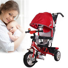 Baby Toy Pushchair Kid Child Trike Bike Stroller Tricycle Pram Toddler Push Ride