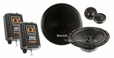 "ALPHASONIK PC65F +2YR WRNTY 6.5"" 640W CAR AUDIO STEREO COMPONENT SPEAKERS SYSTEM"