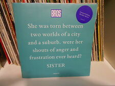 """BROS """"Sister Limited Edition Booklet Sleeve 7""""  UK"""