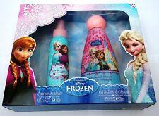 Disney FROZEN Gift Set Eau de Toilette 100ml and Shower Gel Shampoo 200ml NEW