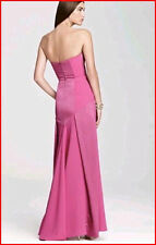 BCBG MAXAZRIA CLAUDINE BRIGHT BERRY STRAPLESS GOWN Size 10 NWT $348 -RackD/65
