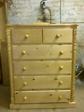 PINE FURNITURE ASHBOURNE SPECIAL LIMITED OFFER 5 DRAWER CHEST NO FLAT PACK
