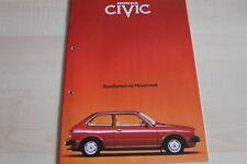 106253) Honda Civic Prospekt 05/1980