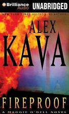 Maggie o'Dell: Fireproof 10 by Alex Kava (2014, MP3 CD, Unabridged)