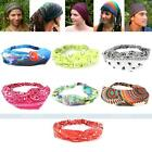 Fashion Women's Men's Stretchy Elastic Fabric Headband Head Hair Band Wrap Scarf