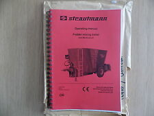 (D) Strautmann Verti Mix Double K Fodder Mixing Trailer Operation Manual