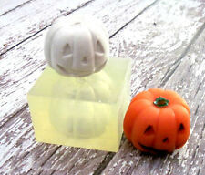 Halloween Jack-O-Lantern Full Form Silicone Fondant Cake soap Candle Baking Mold