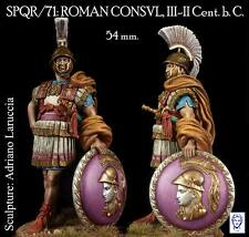 Alexandros Models Roman Consul II Cent. BC 54mm Model Unpainted Kit LARUCCIA