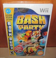 BRAND NEW SEALED Boom Blox Bash Party Nintendo Wii